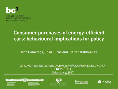 Spanish Association of Energy Economics - Presentation (BC3)